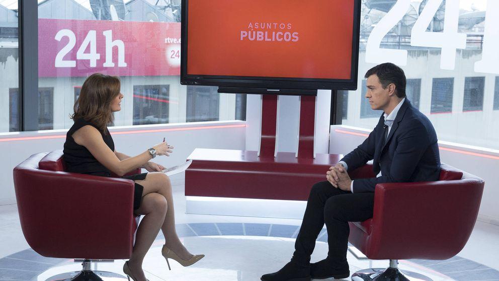 Sánchez califica de insuficientes las propuestas de Rajoy sobre pensiones
