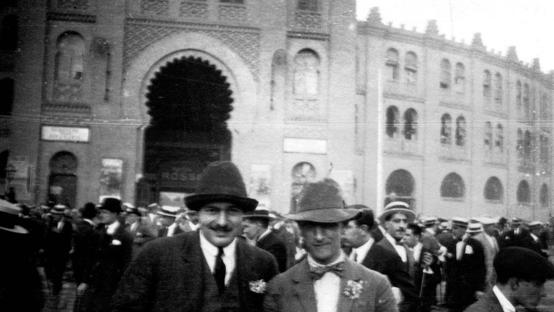 Foto: Imagen de Ernest Hemingway en Ronda (Málaga), en 1923.