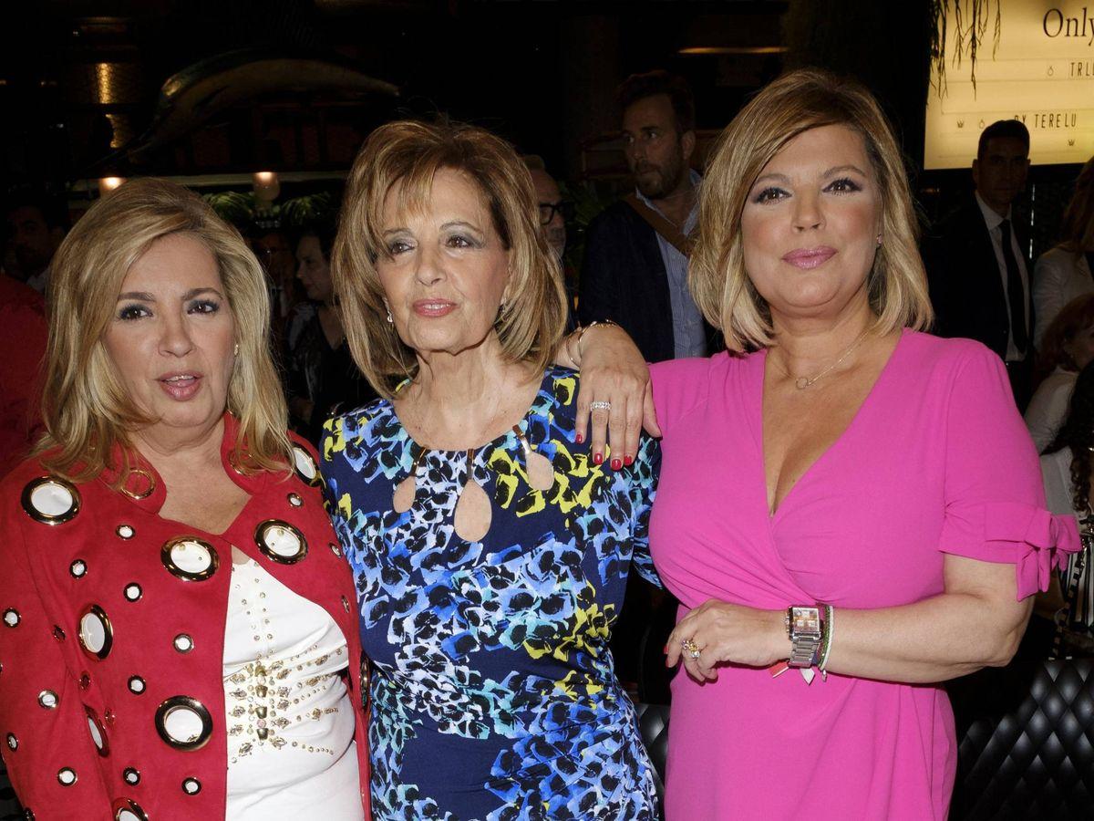 Foto: Carmen Borrego, María Teresa Campos y Terelu Campos. (Cordon Press)
