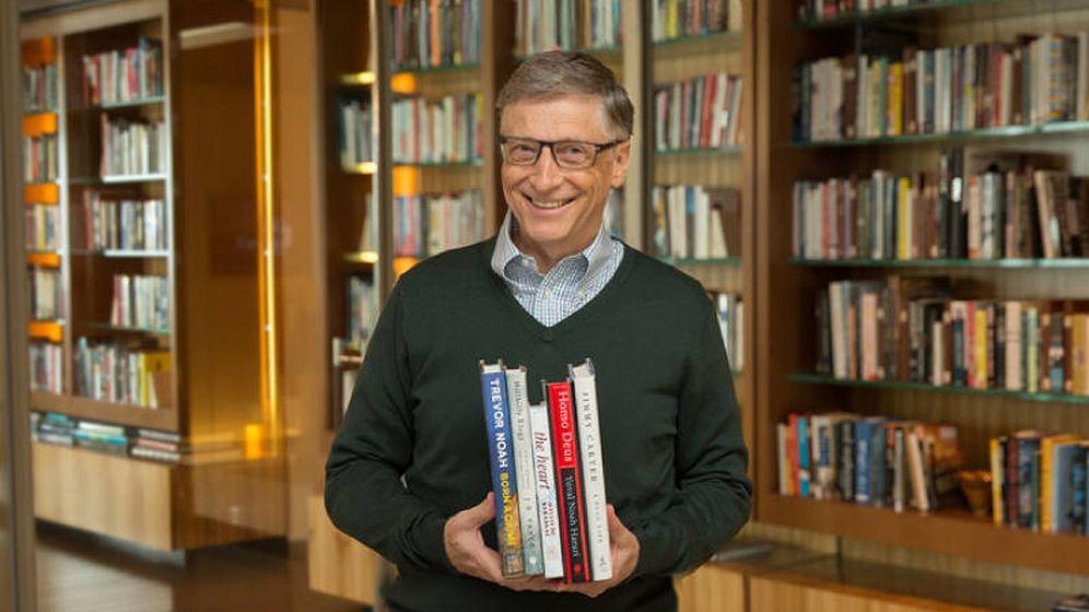 Foto: Cinco libros no son tantos, es factible. (Gates Notes)