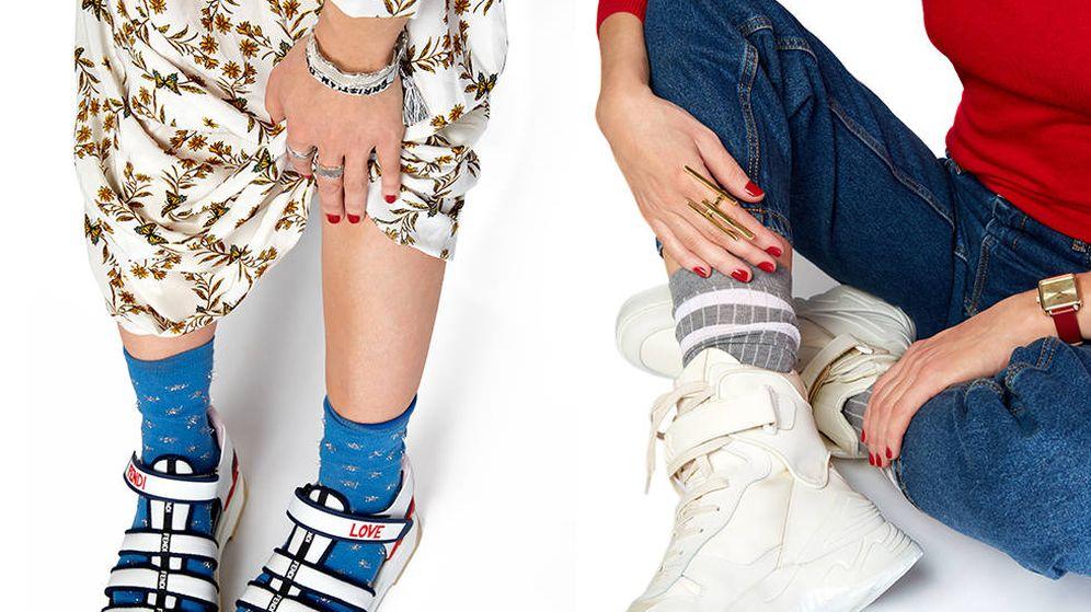 Foto: La goma es la protagonista en cangrejeras o en modelos abotinados. (Imagen: Olga Moreno)
