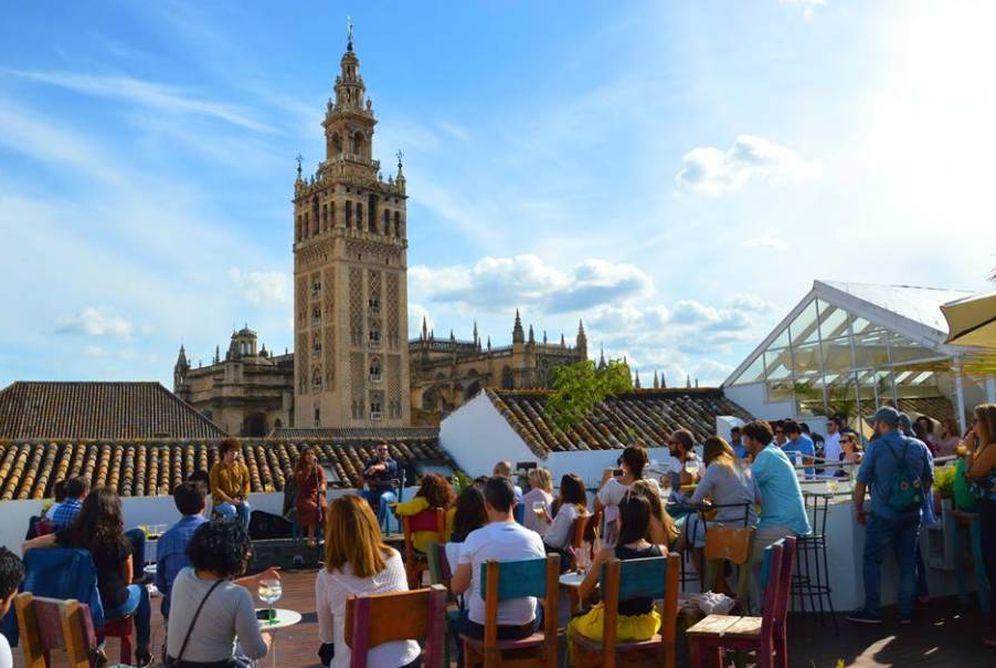 Restaurantes de madrid a sevilla las mejores terrazas y for Restaurantes con terraza madrid