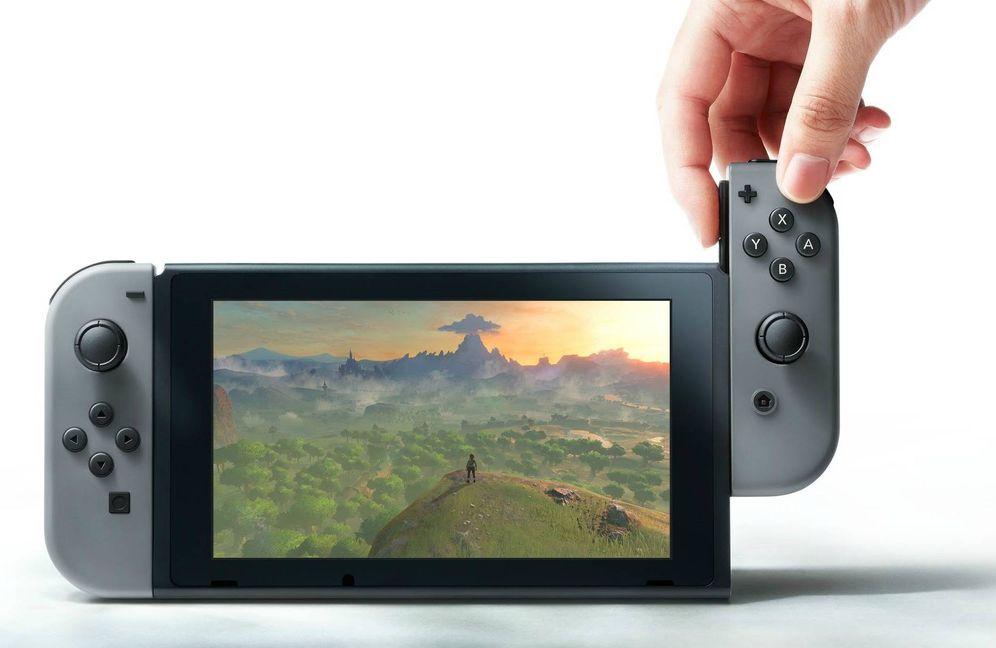 Foto: La Switch mezcla el concepto de consola de sobremesa y portátil. (Nintendo)