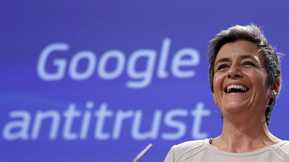 Europa perseguirá al conglomerado Alphabet de Google en múltiples frentes