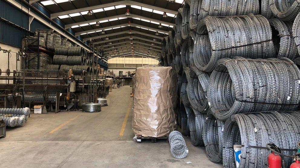 Málaga fabrica las concertinas de Europa: ¿Se acaba un negocio de 6 millones al año?