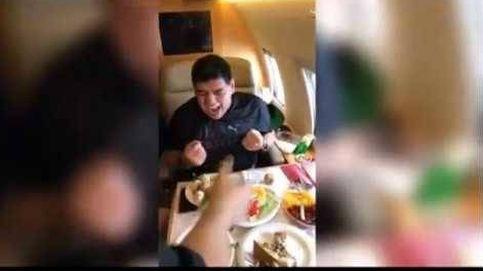 Así se las gasta Maradona con los chupitos