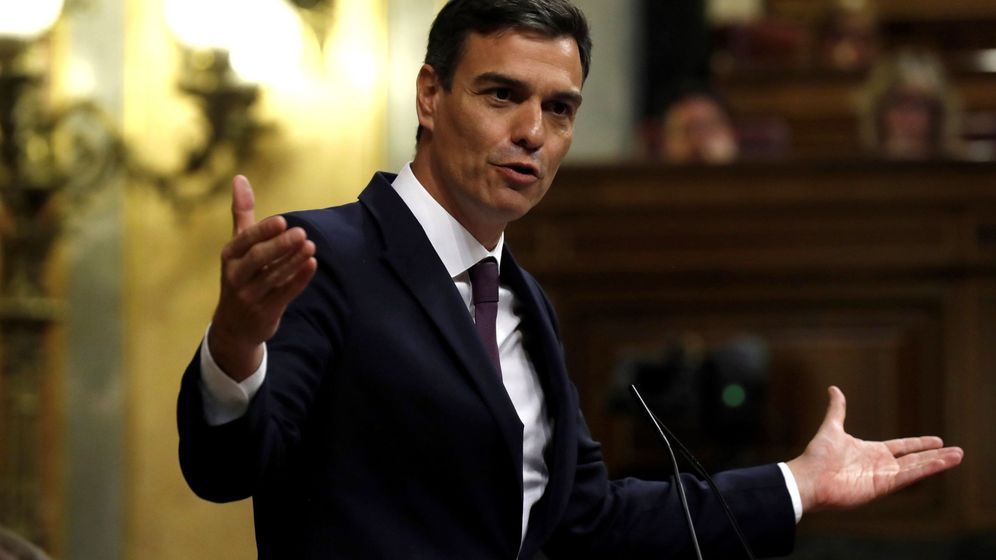 Foto: Pedro Sánchez, en el Congreso. (EFE)