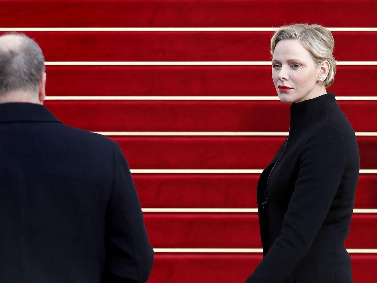 Foto: Alberto y Charlène de Mónaco, en una imagen de archivo.  (EFE)