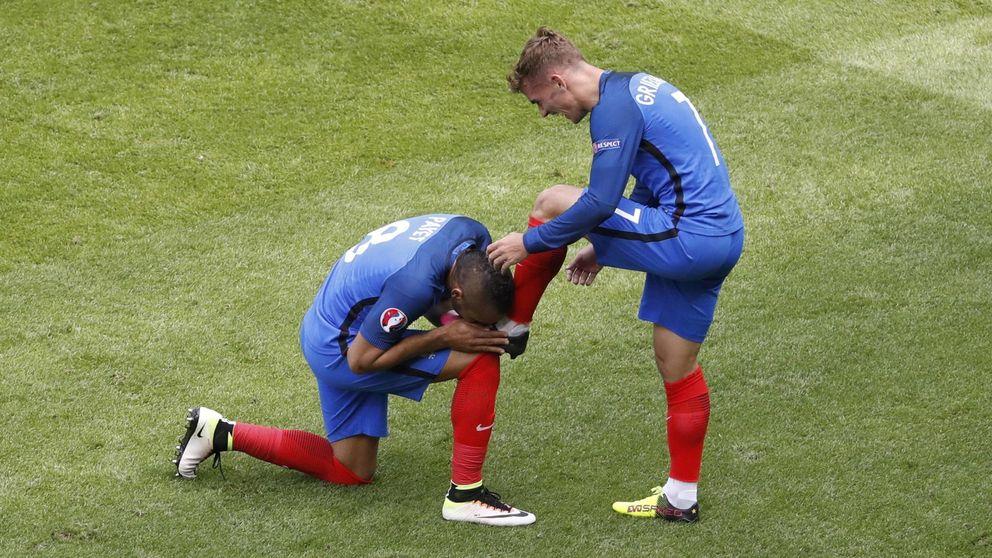 Dos goles de Griezmann sirven a Francia para remontar a Irlanda