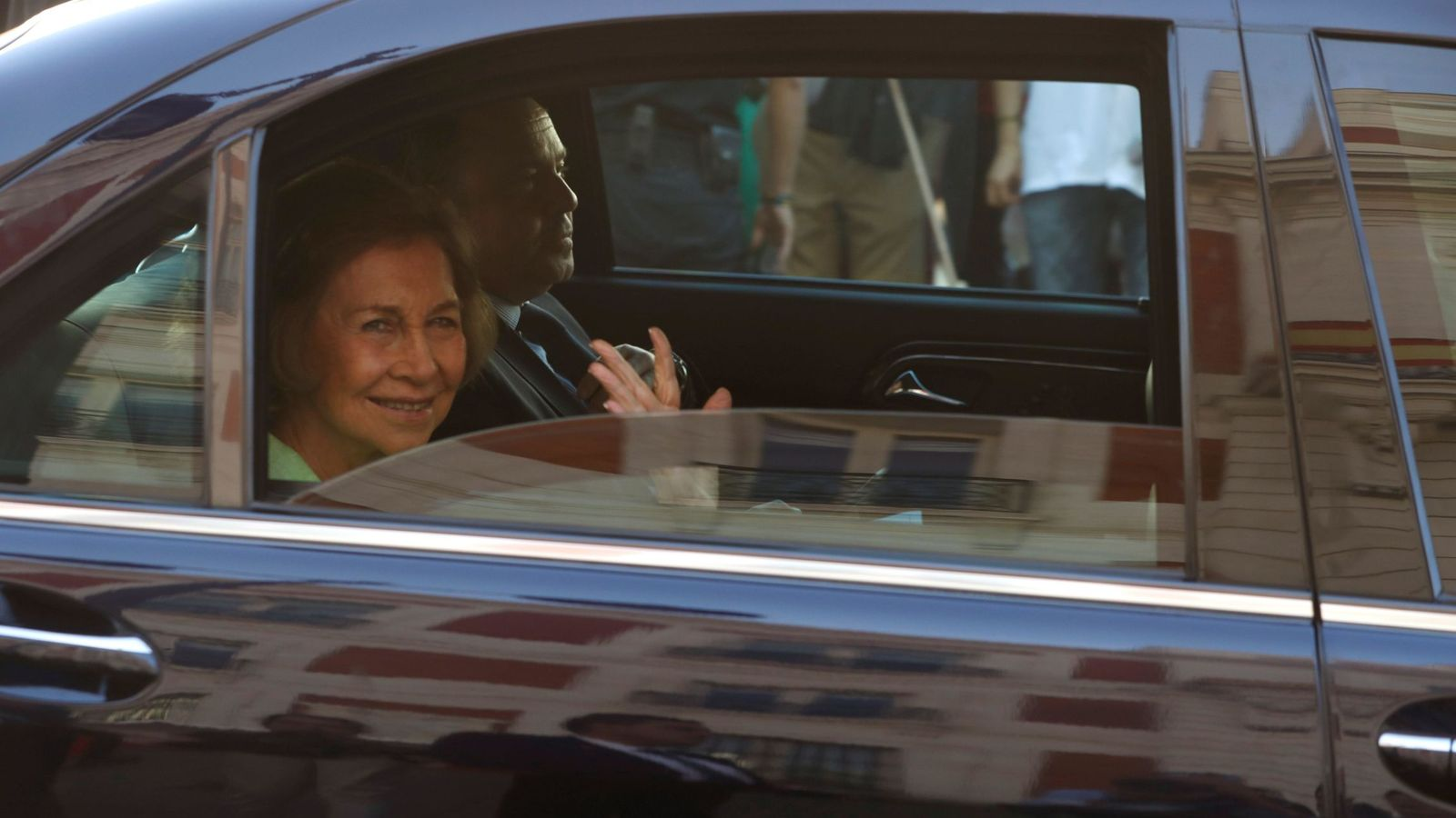 Foto: Reina Sofía. (EFE)
