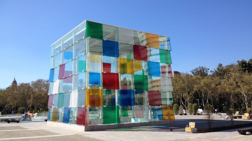 Foto: El Museo Pompidou de Málaga. (Foto: Agustín Rivera)