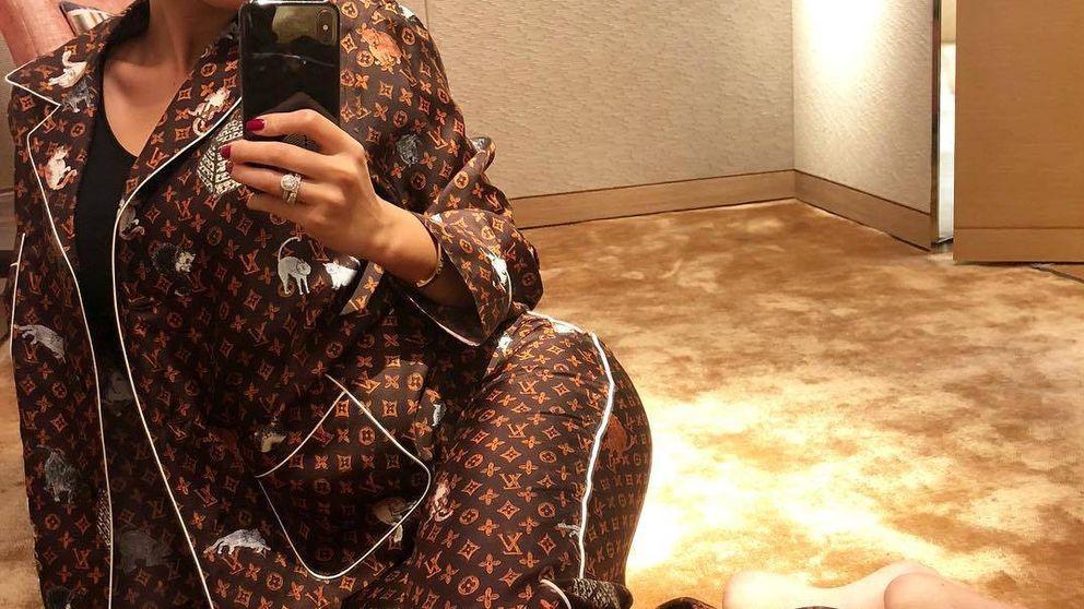Georgina duerme con un pijama que vale el doble (o triple) que tu alquiler