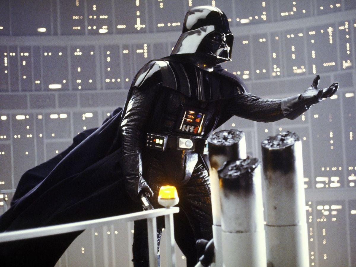 Foto: Dartha Vader. (Episodios IV, V y VI)