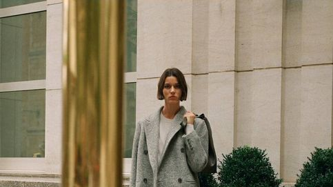 Este abrigo gris de lana de Massimo Dutti es una inversión rentable para el frío