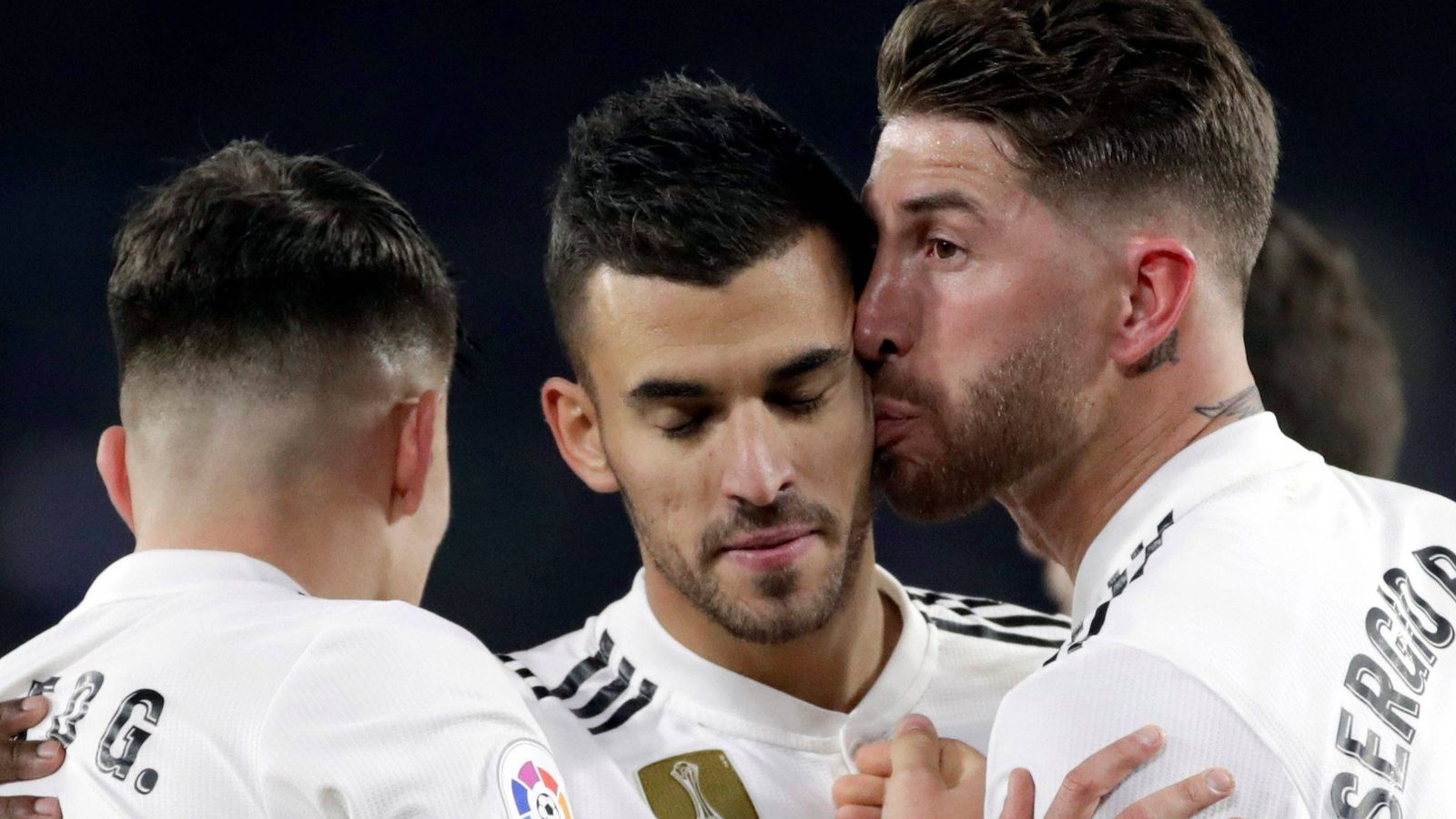Foto: Jugadores del Real Madrid celebran un gol. (EFE)