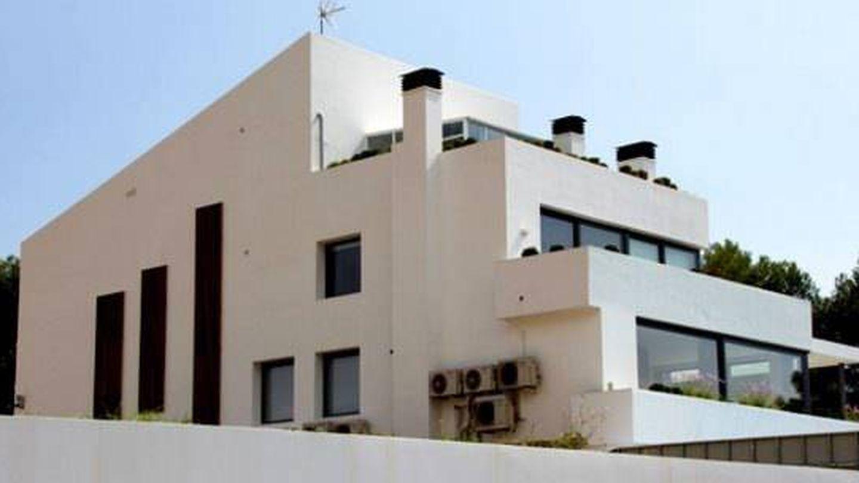 La casa de Messi en Castelldefels.