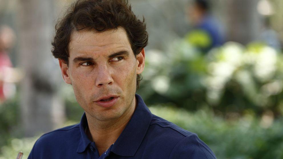 Rafa Nadal se resiente de su lesión y causa baja en el Abierto de Acapulco