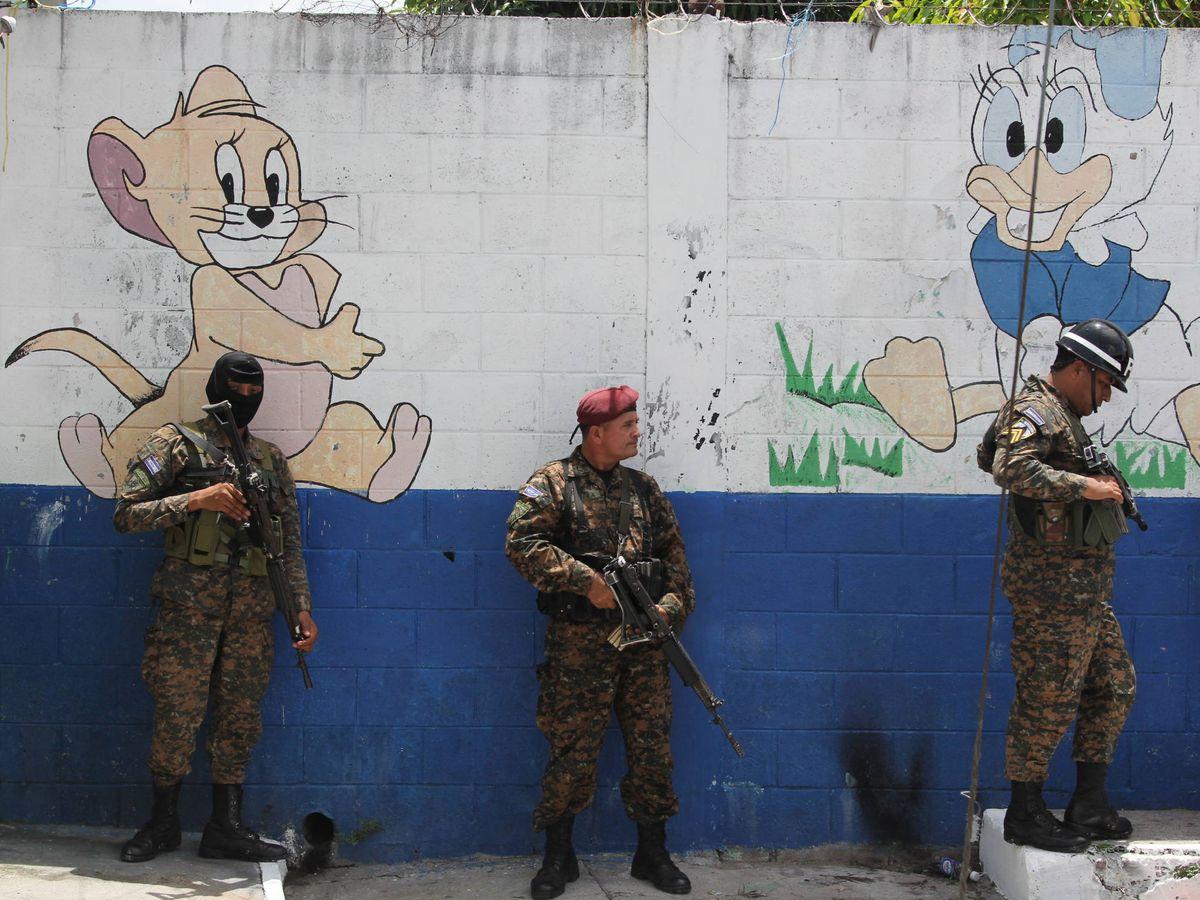 Foto: Guardería en una zona controlada por la Mara Salvatrucha en El Salvador. (Javier Brandoli)