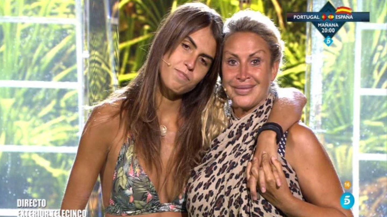 Sofía expulsa a Raquel Mosquera de 'Supervivientes 2018'. (Telecinco)