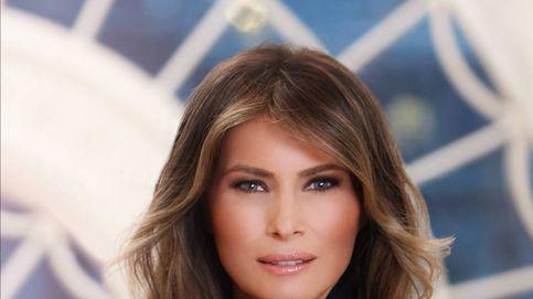 El abuso de Photoshop de Melania Trump en su primera imagen oficial