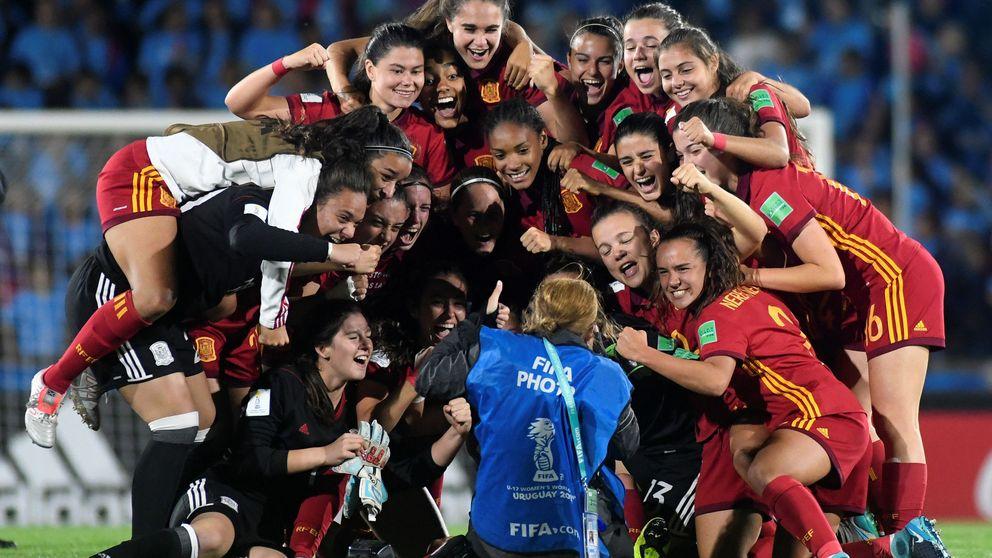 España cierra un año de ensueño en el fútbol femenino con el título mundial sub-17