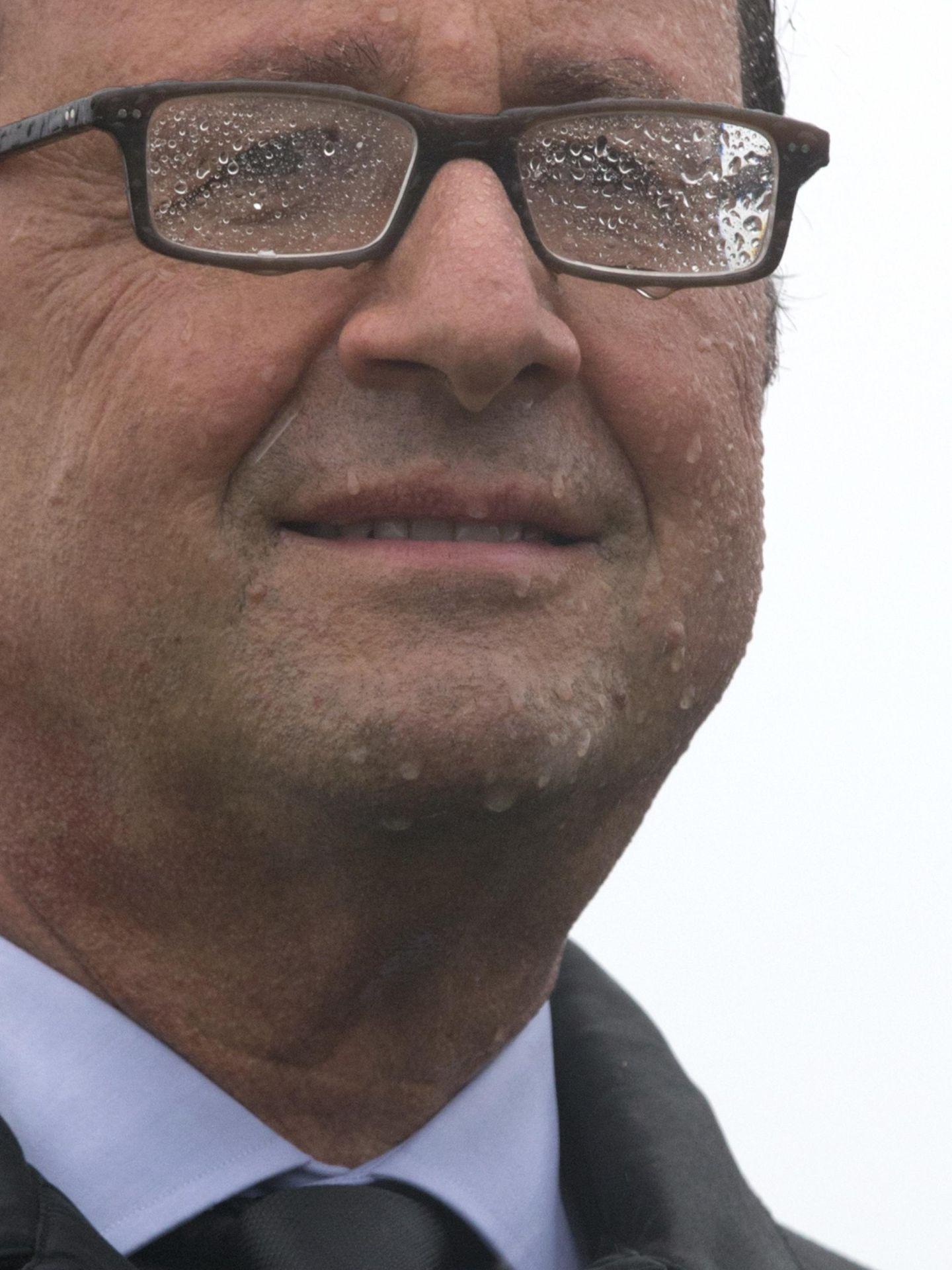 Hollande, ayer en la Isla de Sein.