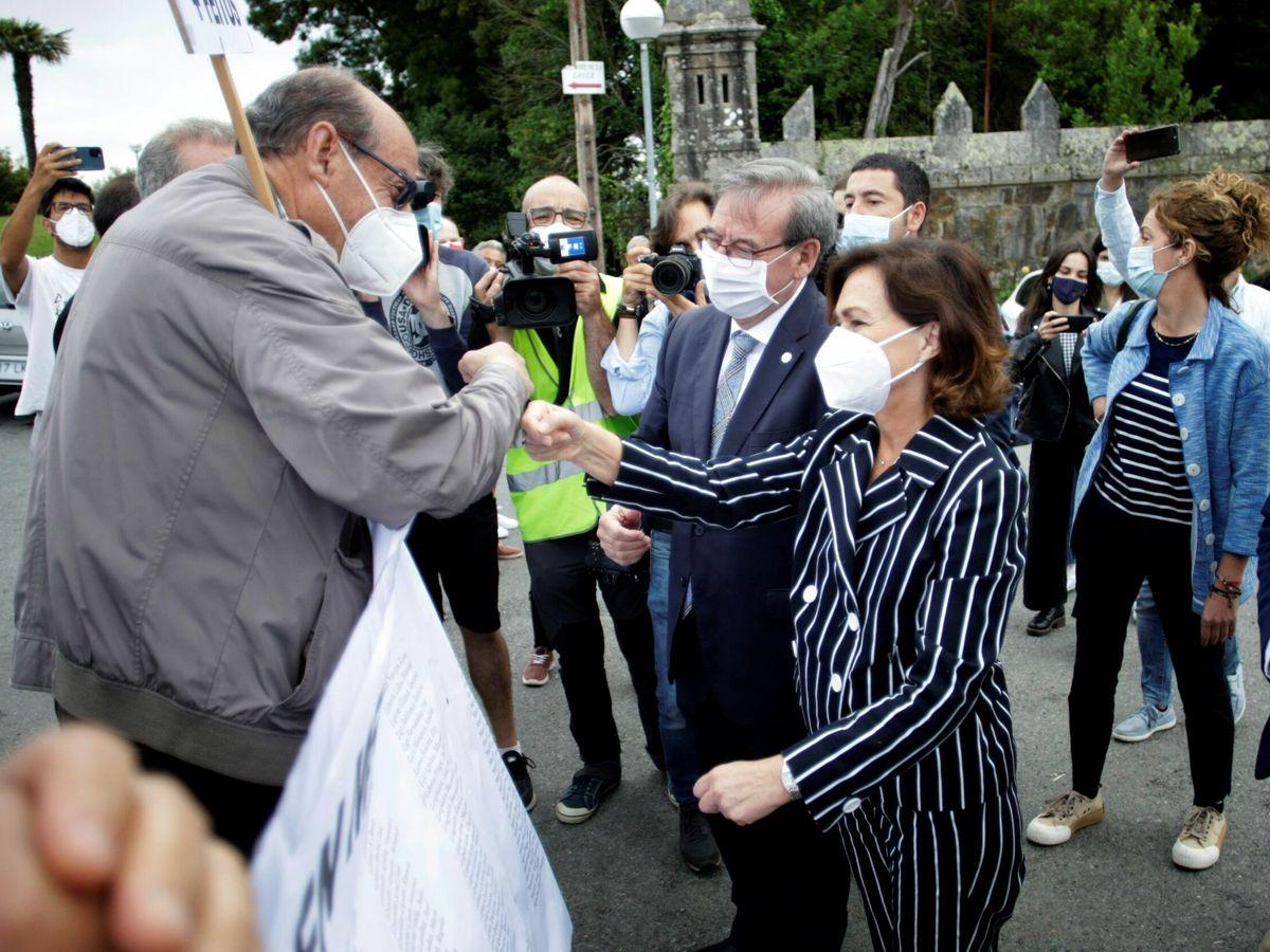 Foto: La vicepresidenta primera del Gobierno y ministra de Presidencia Carmen Calvo. (EFE)