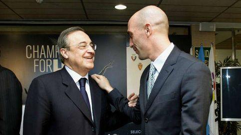 Florentino Pérez no le coge el teléfono a Rubiales, pero ¿no debería ser al revés?