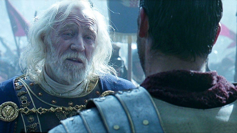 Foto: Richard Harris interpretó a Marco Aurelio en 'Gladiator' de Ridley Scott. (Universal)