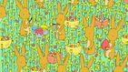 El último acertijo visual: ¿eres capaz de encontrar el pollito entre tantas flores?