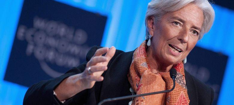 Foto:  La directora gerente FMI, Christine Lagarde (Efe)
