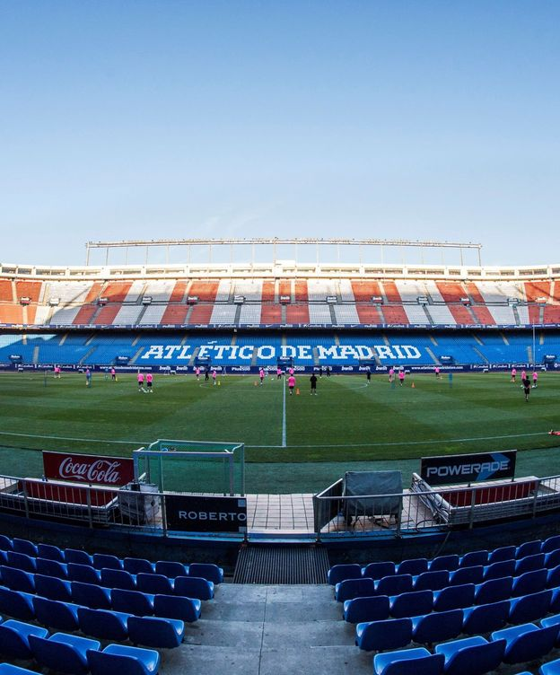 Foto: Estadio Vicente Calderón.
