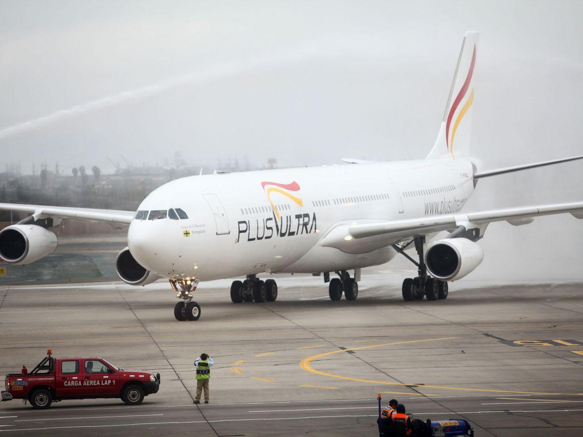 Foto: Avión de Plus Ultra (EFE)