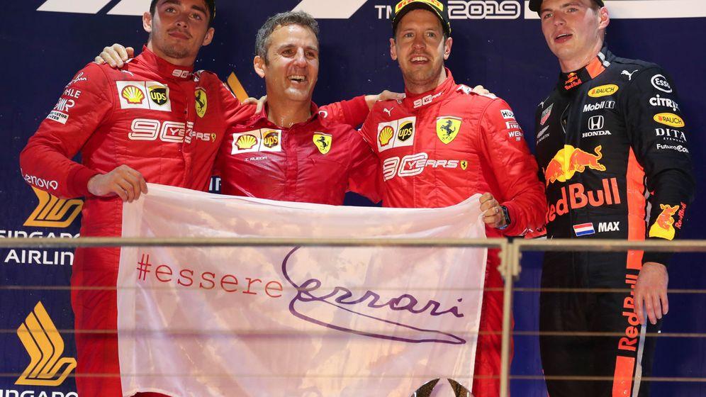 Foto: El ingeniero español estuvo presente en el podio del Gran Premio de Singapur. (Reuters)