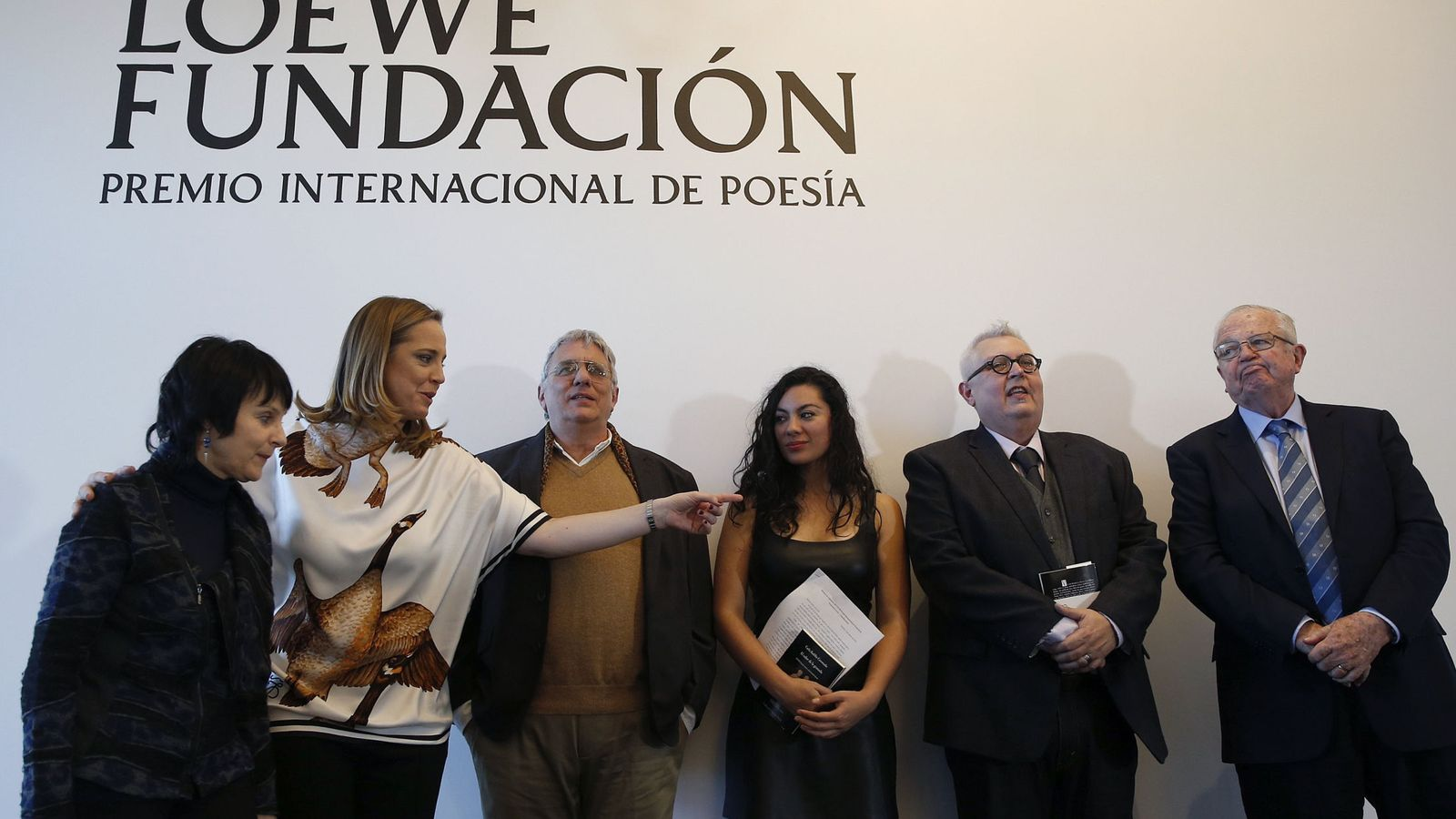 Foto: Entrega del XXVIII premio Loewe de poesÍa