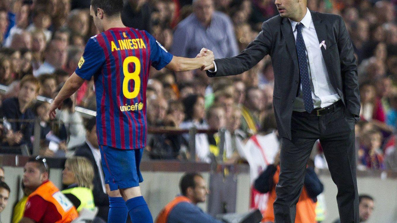 Pobre Barça: de las calabazas de Cruyff a la invitación a Iniesta a irse con Guardiola