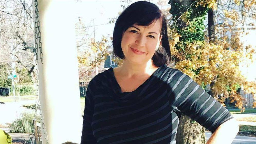 Foto: La vida de Katie sufrió un antes y un después tras el infarto (Foto: Facebook)