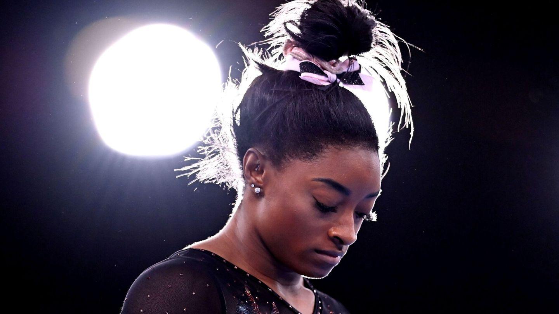 La gimnasta estadounidense Simone Biles. (EFE)
