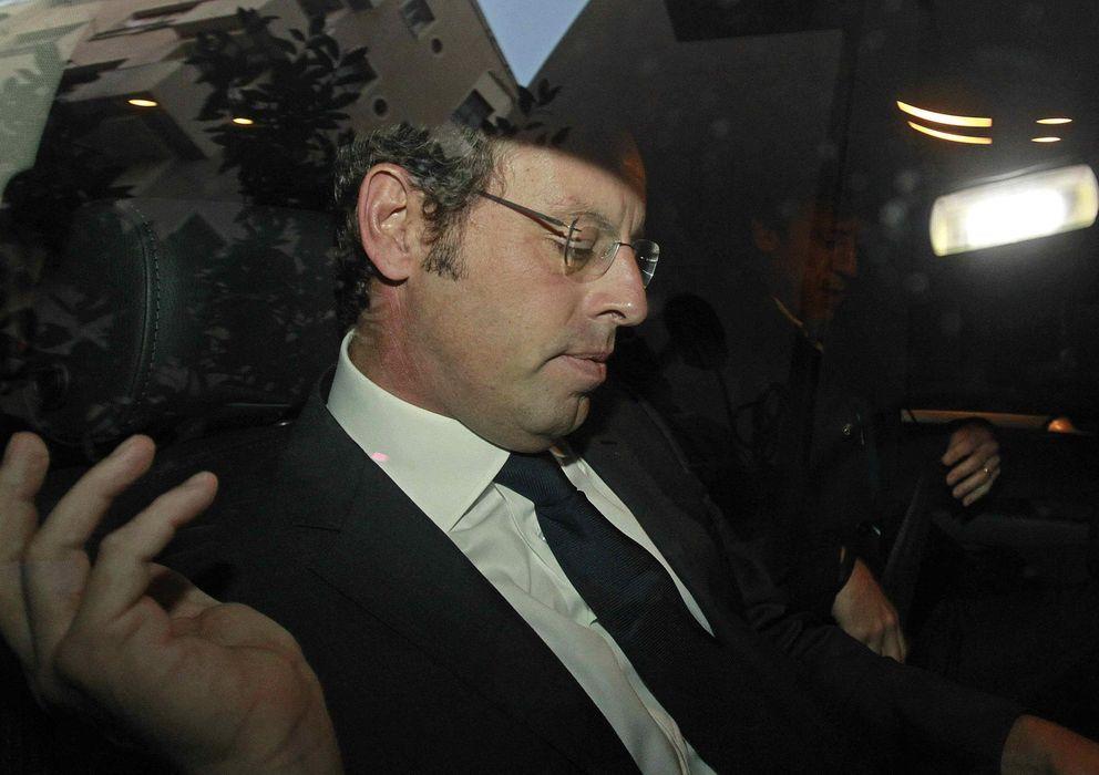 Foto: Rosell está acusado de falsedad documental y de beneficiarse de contratos (Efe).