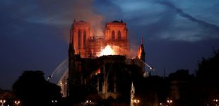 Post de Incendio en Notre Dame: ¿por qué no se utilizaron aviones cisterna?