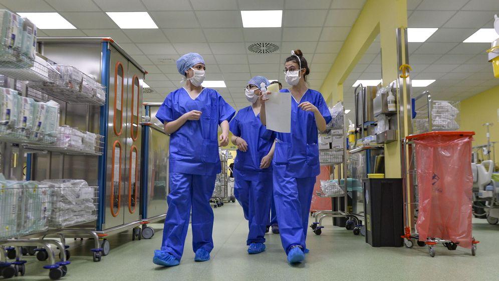 Foto: Hospital de San Rafael en Milán. (EFE)
