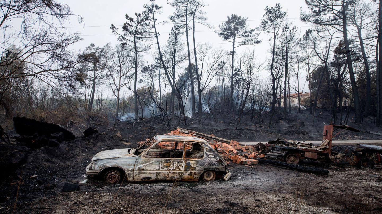 La oleada de incendios de Galicia acabó con la vida de cuatro personas. (EFE)