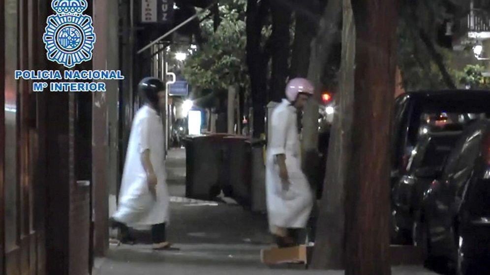 Foto: Tres yihadistas detenidos en Madrid. (EFE)