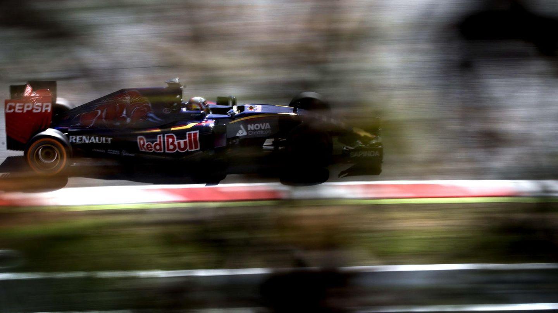El Red Bull de Gasly. (EFE)