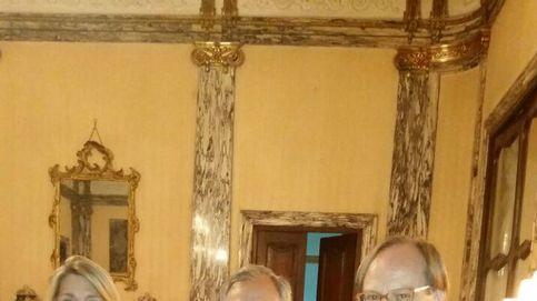 Gran fiesta en la embajada italiana por la familia Trussardi