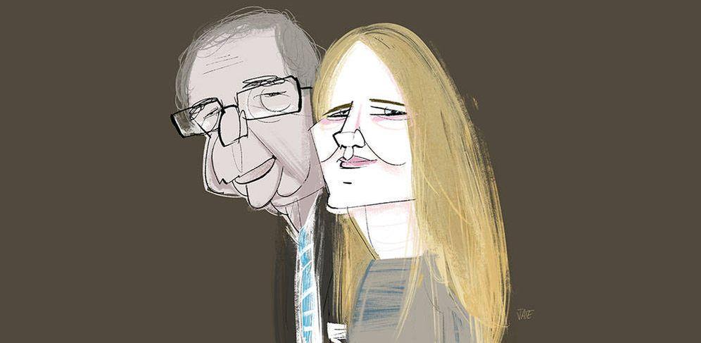 Foto: César Alierta y Isabel Sartorius por Jate.
