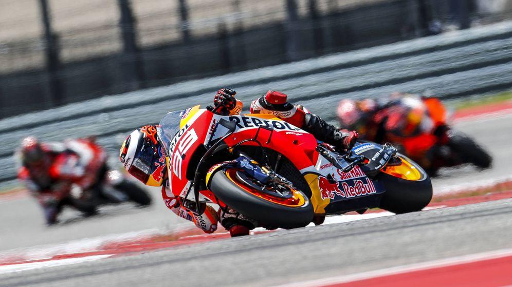 Foto: Jorge Lorenzo no pudo terminar la carrera del Gran Premio de las Américas. (Foto: Repsol Honda)