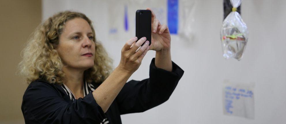 La profesora María Acaso, autora de 'rEDUvolution'. (Liliane Gordiano)