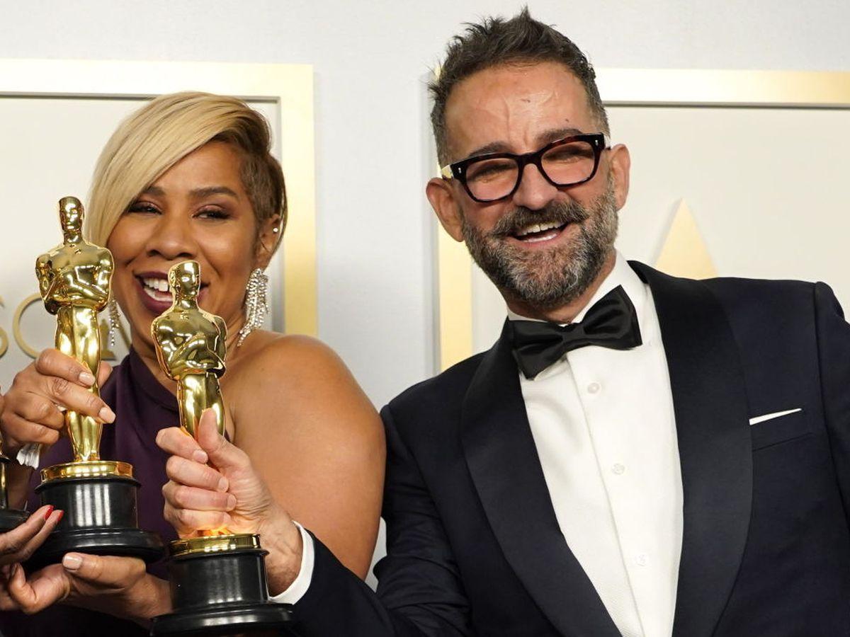 Foto: Sergio López-Rivera, en los Oscar. (EFE)