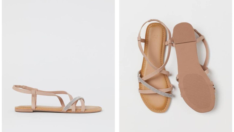Las nuevas sandalias de HyM. (Cortesía)